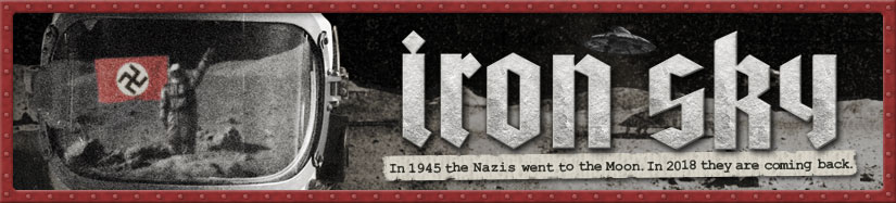 "Movie ""Iron Sky"" Banner"